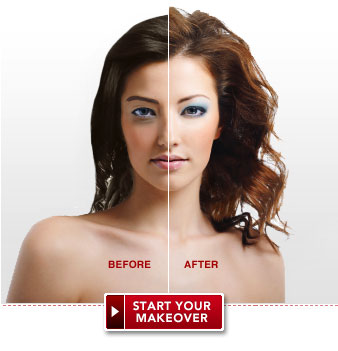Outstanding Virtual Makeover Free Instant Makeover At Total Beauty Short Hairstyles Gunalazisus